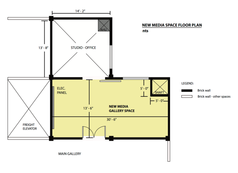 Floor Layout New Space - Moved in early April 2015