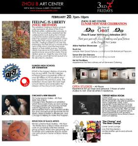 Publicity - Third Friday, February 2015